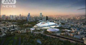 The original stadium design by the late Iraqi-British architect Zaha Hadid