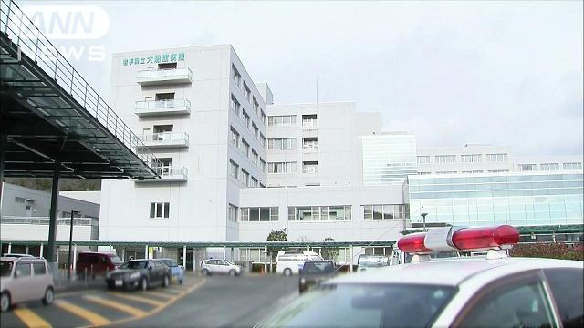A 49-year-old man stabbed a nurse at Iwate Prefectural Ofunato Hospital on Tuesday