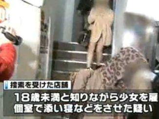 Tokyo police raided 17 shops in the metropolis