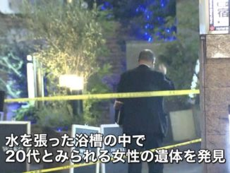 A woman's corpse was found in a love hotel in Kabukicho on Tuesday