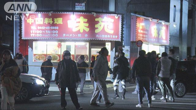 A gunman shot the wife of a yakuza boss and his driver near JR Kawasaki Station on Thursday night