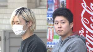 Yota Watanabe (left) and Kazuki Koyama