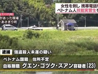 Kumamoto police have arrested a Vietnamese national