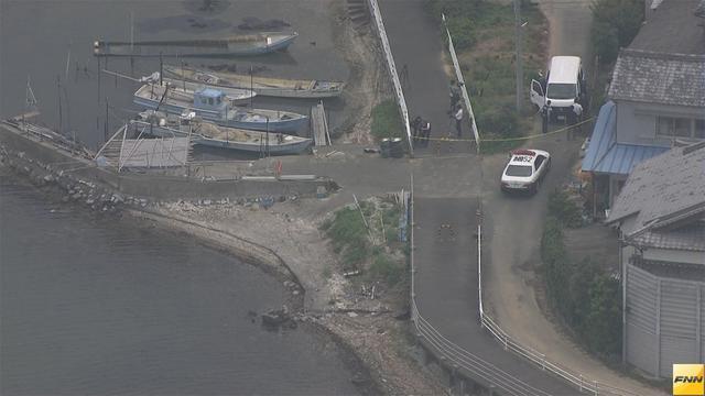 A human leg was found at the edge of Okuhamana Lake in Kita Ward