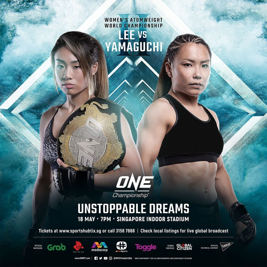 "Angela Lee (left) and Mei Yamaguchi and will headline ""Unstoppable Dreams"" in Singapore on May 18"