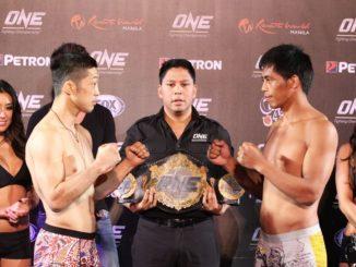 Koji Oshi (left) and Honorio Banario