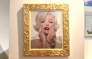 An image of Marilyn Monroe at Kristal & Glam