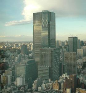 Tokyo Midtown opened in April, 2007