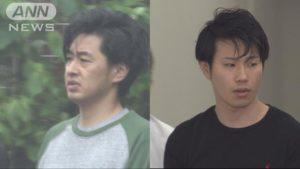 Takuya Habu (left) and Masaki Otaki