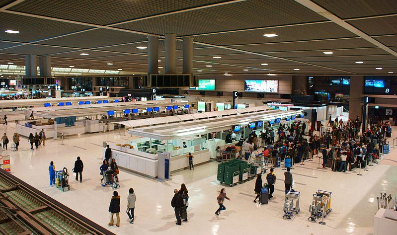 Police arrested a woman at Narita International Airport for assaulting a female employee