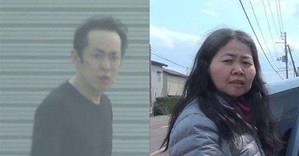 Niigata police have accused Kazuhiko Ichikawa (left) and Nobuko Kazumi of murder in the killing of Keiichiro Nakajima