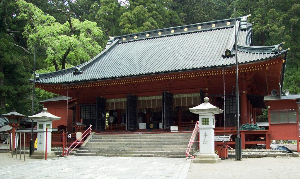 A body was found about 1 kilometer from Nikko Futarasan Shrine