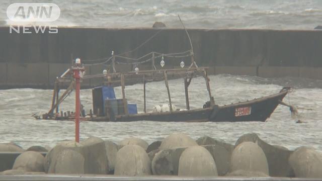 boat from North Korea