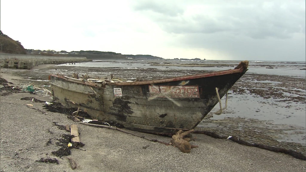 The number of wooden boats likely from North Korea that have been found along the nation's northern shores this year is nearly double the figure for all of last year