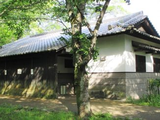 Oita police arrested a man last week who was living inside a public toilet at a park
