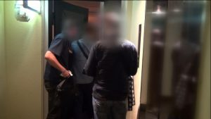 Osaka police raided 2 'girl's bar' establishments in Kita Ward