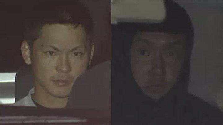 Takashi Kurosaki (left) and Katsumi Otani