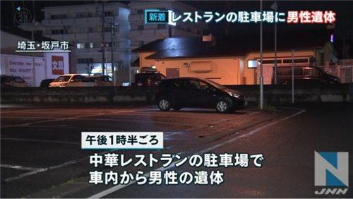 The parking lot in Sakado City