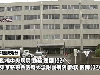 The Saitama District Public Prosecutor's Office (above) has dropped a case against two doctors and a medical student in the alleged gang rape of a teenage girl in Tokyo last year