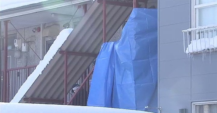 A 65-year-old man was found stabbed to death inside his residence in Sapporo on Sunday