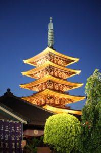 Pagoda at Senso-ji