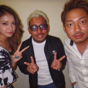 Yuki Fukushima (center)