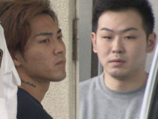 Gaku Oshiro (left) and Masaru Shimosato