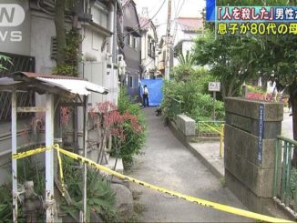Tokyo police believe a 56-year-old man strangled his mother to death in the residence they shared in Shinagawa Ward before attempting to take his own life
