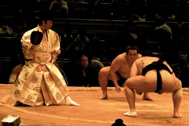 Sumo wrestlers (eugeneflores on Flickr)