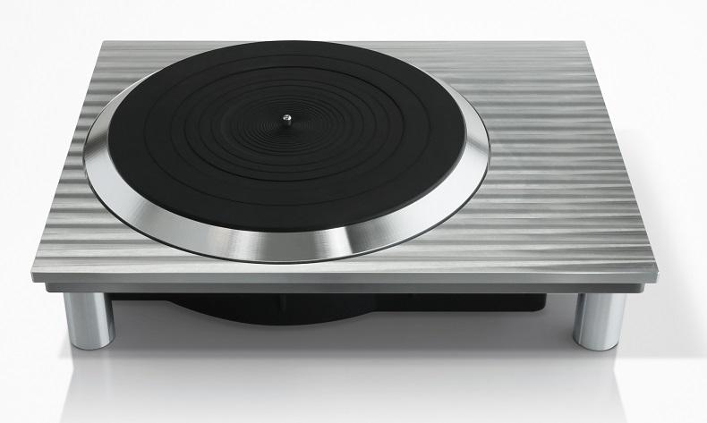 A prototype of a new Technics turntable that went on display this week in Berlin
