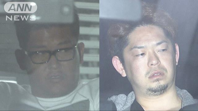 Fumiya Akaza (left) and Takuma Yoshida