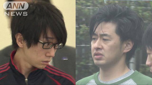 Ken Nemoto (left) and Takuya Habu