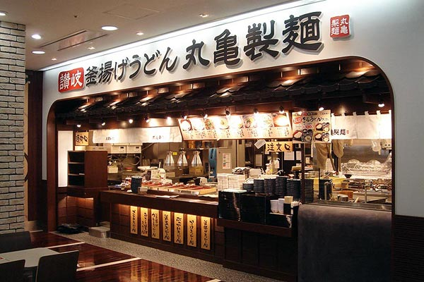 Marugame Seimen specializes in udon dishes