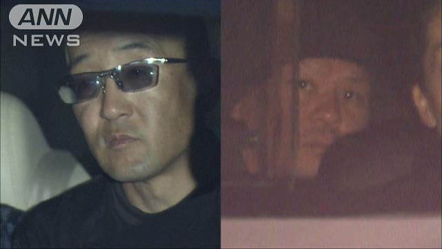 Yoshio Hatsuki (left) and Noriyuki Okuyama