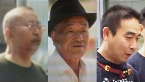 Shigemasa Kamenai, Akira Yoshida and Yuichi Mae
