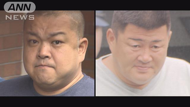 Satoshi Tajima (left) and Yuichi Kawamura