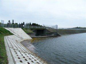 The Yamakura Dam in Chiba